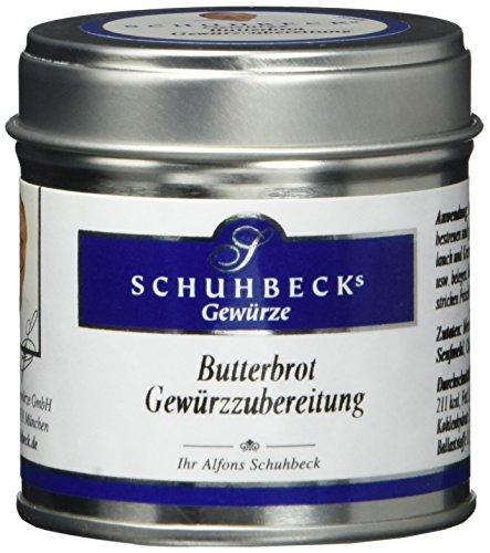 Schuhbecks Gewürzzubereitung für Butterbrot, 3er Pack (3 x 75 g)