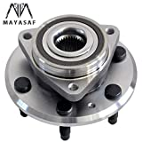 MAYASAF 513277 Front/Rear Wheel Hub Bearing Assembly 6 Lugs w/ABS for BUICK 2008-16 Enclave, for...