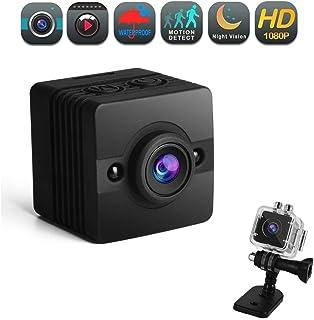 كاميرا خفية صغيرة عالية الدقة من أليل جي - 1080P صغيرة HD لاسلكية للمراقبة المنزلية - كوفيتت كاميرا مربية صغيرة مع رؤية لي...