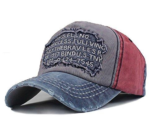 Sun Hat Gorra para Hombre, Estilo Vintage Desgastado, para Exteriores, para Senderismo, para Correr