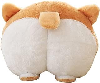 YOMESTE Corgi Cute Butt Throw Pillow Animals Stuffed Toy