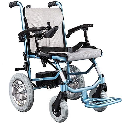 Silla De Ruedas Eléctrica |plegable | Ultraligera | Fácil De Transportar | 360° Joystick|asiento 45 Cm| Aluminio - Mayores Ancianos Ligera Movilidad Reducida Minusválidos