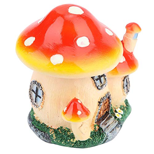 Garden Ornament, Dollhouse, Mushroom Shape Non-Toxic Park Decoration for Home Decoration
