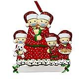 UNKN - Decorazioni per albero di Natale, ornamento 2020, in quarantena, personalizzate con maschere per il viso, per albero di Natale, ornamento di Natale, 3,3 x 6,5 cm