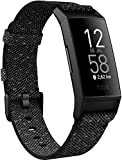 Fitbit FB417BKGY-FRCJK Charge 4 fitness and Activity Tracker with Built-In Gps, Heart Rate