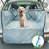 xterra cargo cover - upra Car Liners for SUV, Quilted Waterproof Oxford Trunk Cargo Covers for Dogs, Foldable & Washable Dog Travel Accessories, Durable Cargo Liners for Pets Outdoor Traveling, Beach