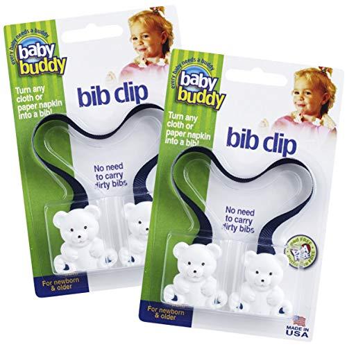 Baby Buddy Bib Clip, Navy