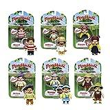 Toy Partner Monchhichi Mini muñeco coleccionable, multicolor (81551) , color/modelo surtido