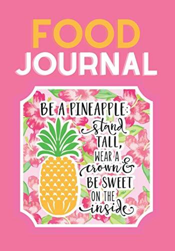 Food Journal: A 90 Day Food Journal + Gratitude Journal /...