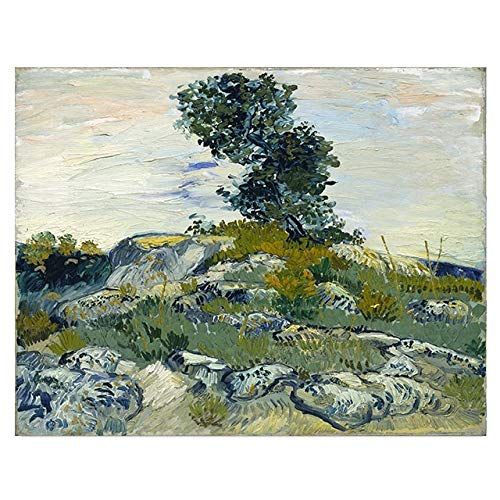 BGFDV Painter Van Gogh's landscape canvas, oil painting, posters, prints, wall art pictures for the living room