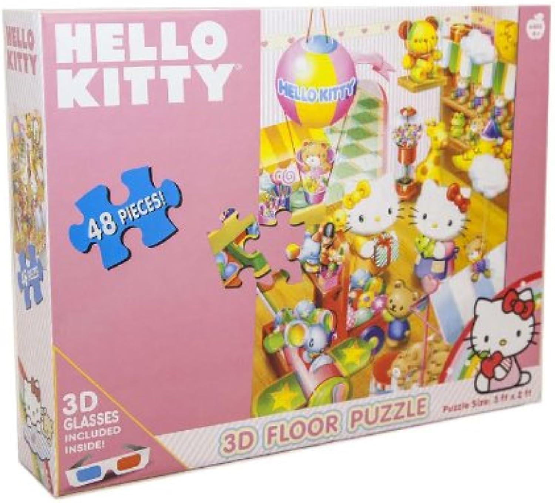 Hello Kitty 3-D Floor Puzzle