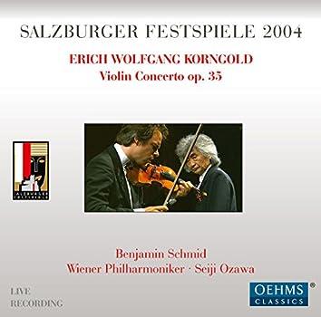 Korngold: Violin Concerto in D Major, Op. 35 (Live)