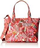 Oilily Damen Diaper Bag Schultertasche, Pink (Pink flamingo), 16x31x42 cm