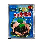Akin Planta flor enraizamiento polvo hormona concentrada acelera el crecimiento estimula las raíces para todas las variedades vegetales crecen medios, incluyendo hidroponía