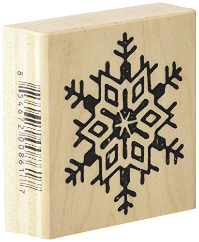 Stamps by Impression Snowflake Christmas Rubber Stamp