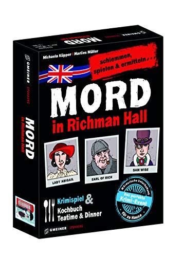 Mord in Richman Hall: schlemmen, spielen & ermitteln (Krimispiele im GMEINER-Verlag)