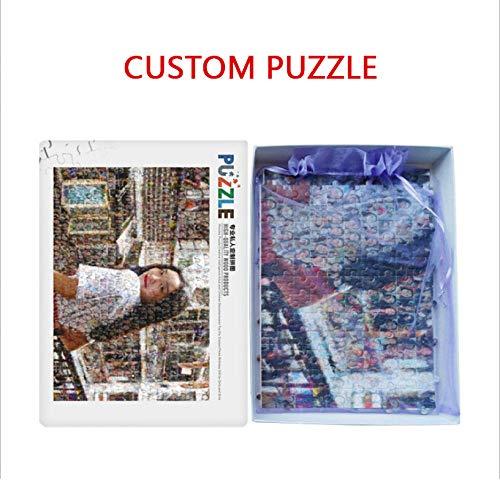 CJFHBVUQ Puzzle Personalizado, Patrones Personalizados Rompecabezas de Madera Rompecabezas Rompecabezas para Adultos Rompecabezas para niños, Rompecabezas Adultos 1000 Piezas, 1000 Pieces 75 * 50cm