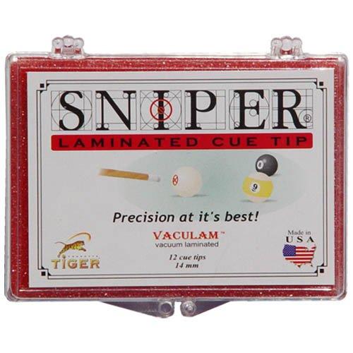 Cuestix Tiger Sniper Tip - (Single)