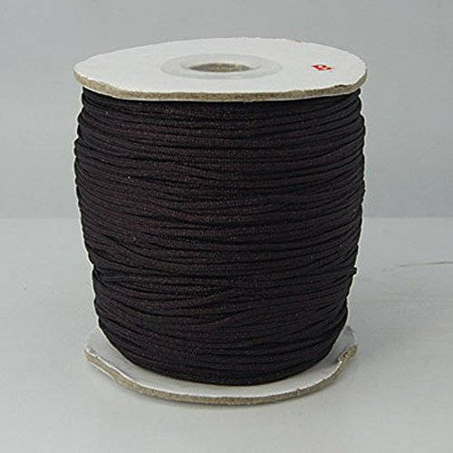 Best Price 1Pcs Awesome Coconut Brown Nylon Thread Cord for Jewelry Necklace Making Accessories