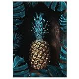 JUNIWORDS Poster, Ananas Monstera, Wähle eine Größe, 40