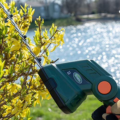 Scotts Outdoor Power Tools LSS10172S 7.2-Volt Lithium-Ion Cordless Grass Shear/Shrub Trimmer Combo, Green