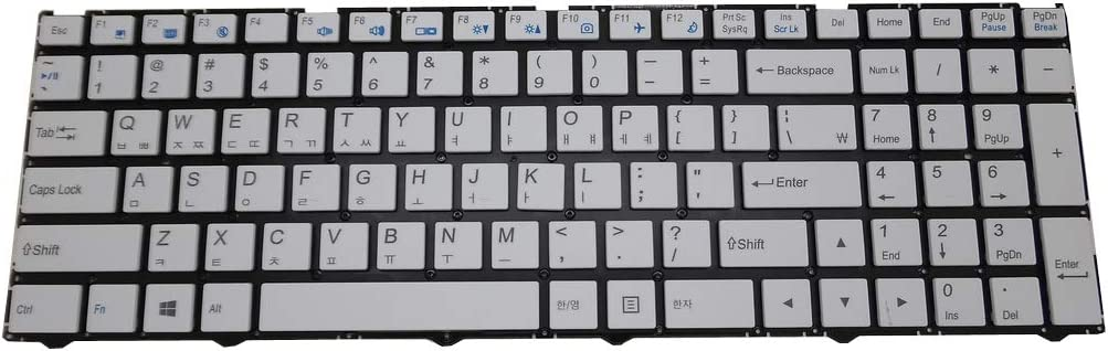 GAOCHENG Laptop White Keyboard Max 68% OFF for JOOYON 15.6' Max 73% OFF NO Korea J15F KR