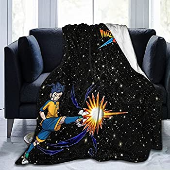 Inazu-Ma Eleven Ultra Soft Micro Fleece Blanket for Bed Couch Living Room,Digital Printed Flannel Throw Blanket for Kids Adults .