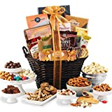 Gourmet Gift Basket of Chocolates, Cookies and Snacks Food Gift Baskets. The...