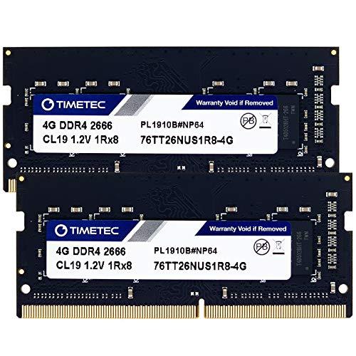 Timetec Hynix IC 8GB KIT(2x4GB) DDR4 2666MHz PC4-21300 Unbuf
