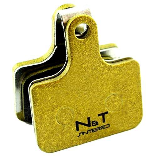 Noah And Theo NT-BP036/SI gesinterte Scheibenbremsbeläge für TRP Hylex HD-C810, Hylex RS HD-C811, FM (Flat Mount), HD-T910 Hydraulic TT Auch kompatibel mit TRP F10RS Ersatzpads