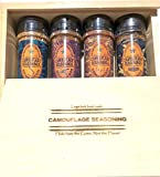 Camouflage Seasonings Spice Gift Box, all purpose mixes for meats and wildgame seasonings, poultry...