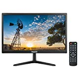 Thinlerain 20 Pulgadas Monitor CCTV Pantalla LED de 1600x900 PC Monitor con VGA/HDMI/AV/BNC/USB,...