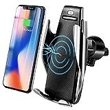MMOBIEL Chargeur sans Fil pour la Voiture Support téléphone capteur Infrarouge Qi Charge Rapide...