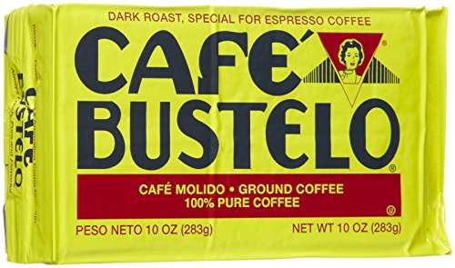Cafe Bustelo Coffee Espresso, 10 oz Bricks
