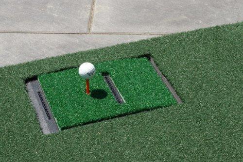 Abschlagmatte 110x150cm für Optishot Golf Simulator (Für Rechtshand Spieler)