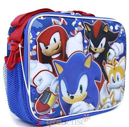 Sonic the Hedgehog Lunch Box Insulated with adjustable straps