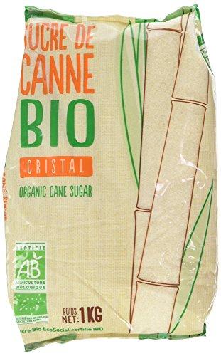 Loiret & Haëntjens Sucre Blond Bio Sachet 1 kg - Lot de 3