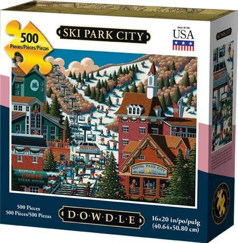 Dowdle Jigsaw Puzzle - Ski Park City - 500 Piece