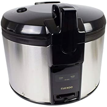 CUCKOO CRP-P1009S programmable pressure rice cooker, steam pressure cooker, slow cooker, stainless steel: Amazon.es: Electrónica