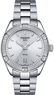 Tissot Stainless Steel Silver Watch For Women - T101.910.11.031
