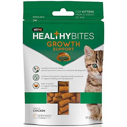 VetIQ Growth Support Kitten Bites, 4 x 65 g