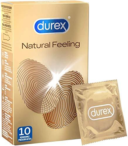 Durex Natural Feeling Préservatifs 10 Pièces