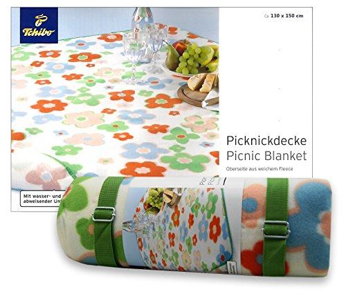 TCM Tchibo Picknickdecke, schmutz-& wasserabweisend, 130x150 cm