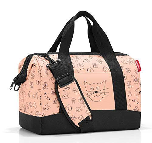 reisenthel allrounder M kids Tasche 40 x 33,5 x 24 cm/18 l / cats and dogs rose