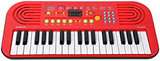 Munchkin Land Piano - 37 Keys Canto Electronic Music Keyboard with Recording and Microphone - Red