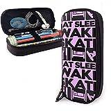 Eat Sleep Wakeskate - Custodia multifunzione per penne in tela di tela con astuccio per tr...