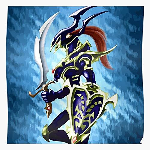 Wolvpower Eyes Dragon Magician Yu Dark Oh Yugioh White Black Gi Girl Exodia Blue Das eindrucksvollste und stilvollste Poster für Innendekoration, das derzeit erhältlich ist