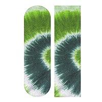 スケートボード デッキテープ 人気 おしゃれ 緑 グリーン タイダイ 水彩 男の子 スケートボードグリップテープ 高校生 中学生 女の子