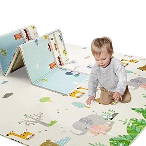 Sale!! Baby Play Mat, Foam Crawling Mats for Children, Foldable Gym Mat, Waterproof,Soft Mat for Flo...