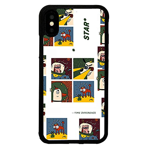 Funda Blanda para teléfono móvil de Dibujos Animados con patrón Divertido para iPhone 11 12 Pro 6s 7 8 Plus X XS 11 Pro MAX XR Funda Protectora, para iPhone 6P / 6S Plus